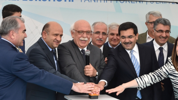 "Minister Avcı attends ceremony held on the occasion of promoting ""E1000 Locally Produced Electric Locomotive"""