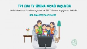 'EBA TV SİNEMA KUŞAĞI' BAŞLIYOR